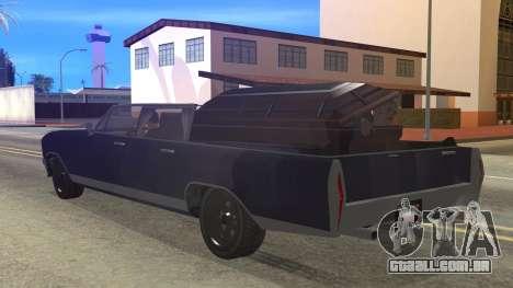 GTA 5 Albany Lurcher Cabrio Style para GTA San Andreas esquerda vista