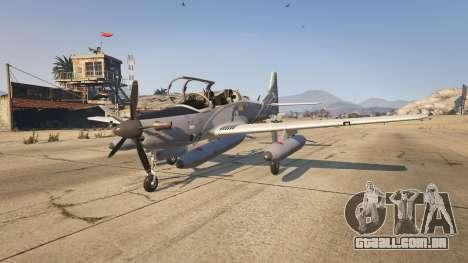 GTA 5 Embraer A-29B Super Tucano House segundo screenshot