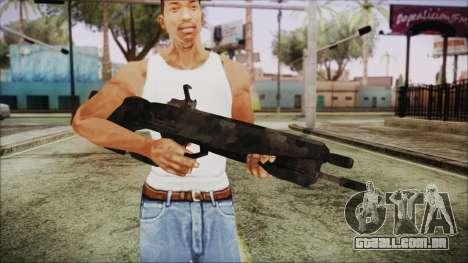 Cyberpunk 2077 Rifle Camo para GTA San Andreas terceira tela