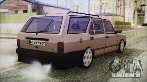 Tofas Kartal SLX 1998 Modified para GTA San Andreas esquerda vista