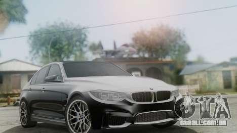 BMW M3 F30 SEDAN para GTA San Andreas