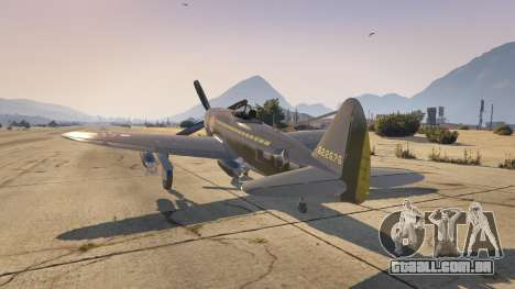 GTA 5 P-47D Thunderbolt segundo screenshot