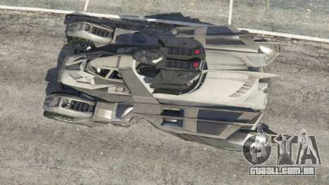 GTA 5 Batmobile Mk2 v0.9 voltar vista