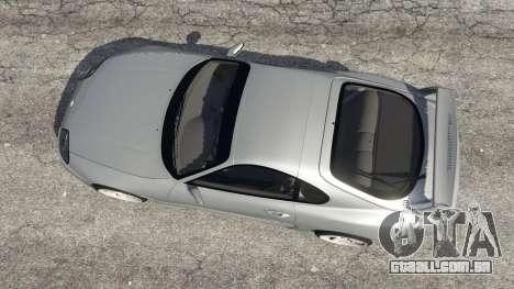 GTA 5 Toyota Supra JZA80 v1.1 voltar vista