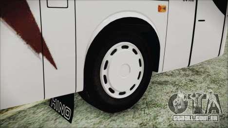 Starbus 34XM para GTA San Andreas traseira esquerda vista
