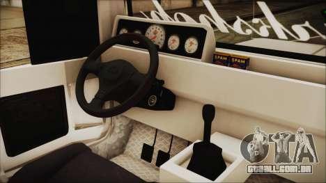 Markshop Jeepney para GTA San Andreas vista direita