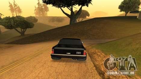 FBIranch By MarKruT para GTA San Andreas traseira esquerda vista