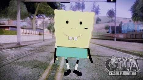 Spongeman para GTA San Andreas segunda tela
