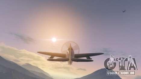 GTA 5 P-47D Thunderbolt quinta imagem de tela