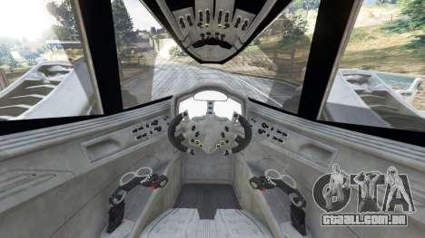 GTA 5 Batmobile Mk2 v0.9 traseira direita vista lateral