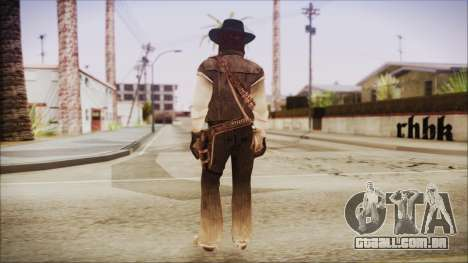 John Marston from Red Dead Redemtion para GTA San Andreas terceira tela