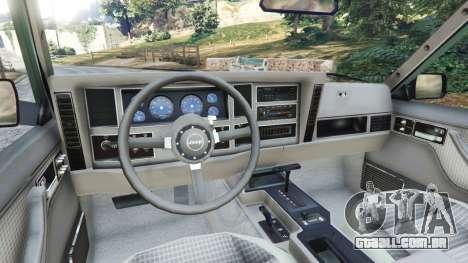 Jeep Cherokee XJ 1984 [Beta] para GTA 5