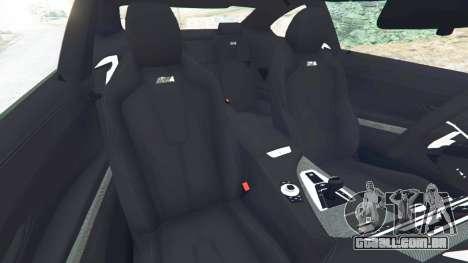 GTA 5 BMW M6 2013 vista lateral direita