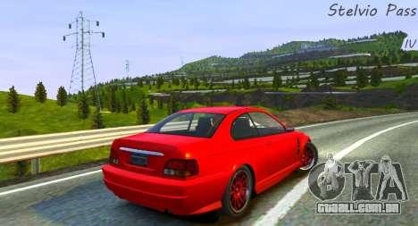 Stelvio Pass Faixa para GTA 4 segundo screenshot