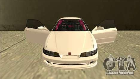 Honda Integra Drift para GTA San Andreas vista superior