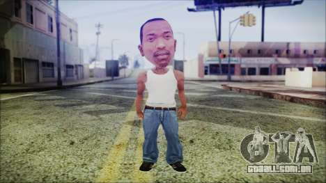 Mini CJ para GTA San Andreas segunda tela