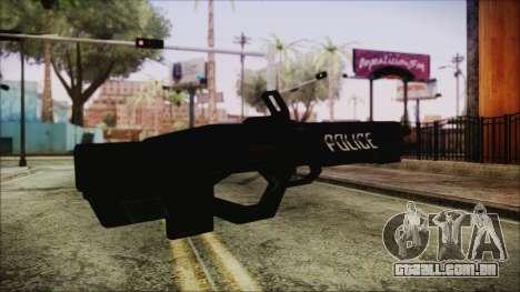 Cyberpunk 2077 Rifle Police para GTA San Andreas segunda tela