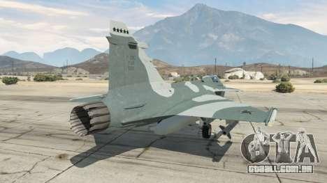 GTA 5 Saab JAS 39 Gripen NG FAB [Beta] terceiro screenshot