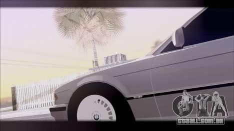 BMW 7-er E38 para GTA San Andreas vista direita