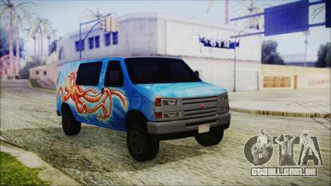 GTA 5 Bravado Paradise Octopus Artwork para GTA San Andreas