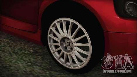 Renault Clio v6 Tunable para GTA San Andreas traseira esquerda vista