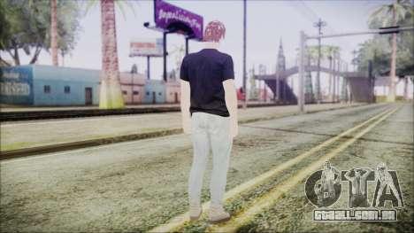 GTA Online Skin 43 para GTA San Andreas terceira tela