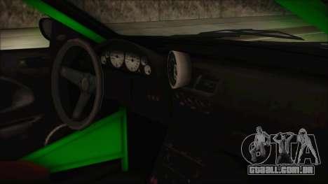 GTA 5 Sentinel RS para GTA San Andreas vista direita
