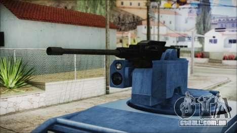 GTA 5 HVY Insurgent Pick-Up IVF para GTA San Andreas vista direita