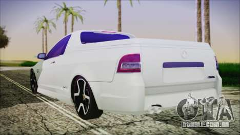 Holden Commodore SS Ute 2012 para GTA San Andreas esquerda vista