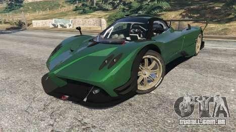 Pagani Zonda R v0.91 para GTA 5