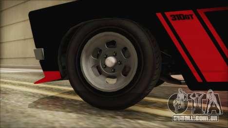 GTA 5 Declasse Tampa IVF para GTA San Andreas traseira esquerda vista