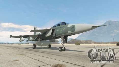 Saab JAS 39 Gripen NG FAB [Beta] para GTA 5