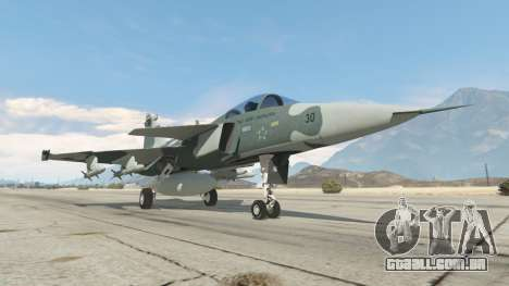 GTA 5 Saab JAS 39 Gripen NG FAB [Beta] sexta imagem de tela
