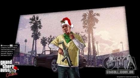 GTA 5 Natal telas de carregamento quinta imagem de tela