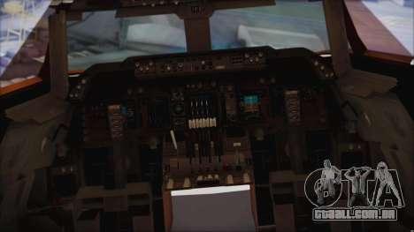 Boeing 747-237Bs Air India Rajendra Chola para GTA San Andreas vista direita