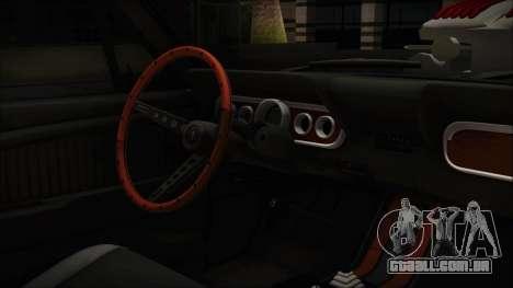Ford Mustang Fastback 1966 Chrome Edition para GTA San Andreas vista direita