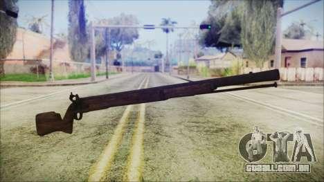 GTA 5 Musket - Misterix 4 Weapons para GTA San Andreas