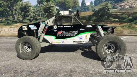 GTA 5 Ickler Jimco Buggy [Beta] vista lateral esquerda