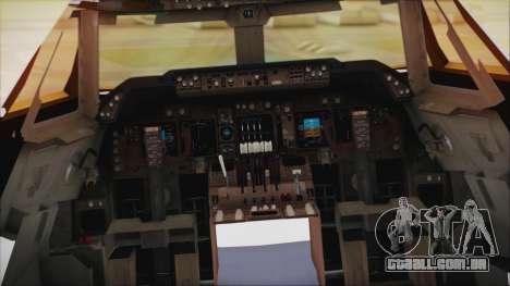 Boeing 747-237Bs Air India Samudragupta para GTA San Andreas vista direita