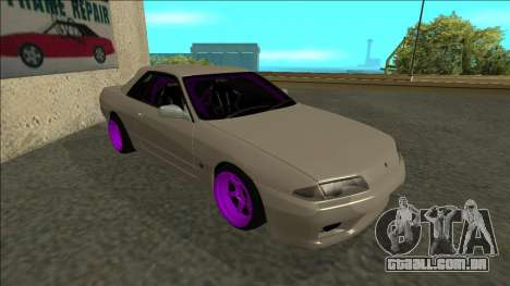 Nissan Skyline R32 Drift para GTA San Andreas esquerda vista