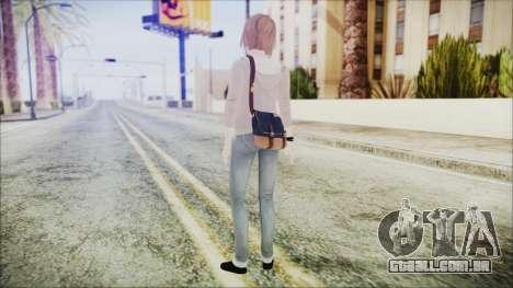 Life is Strange Episode 1 Max para GTA San Andreas terceira tela