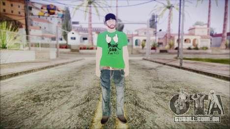 GTA Online Skin 16 para GTA San Andreas segunda tela