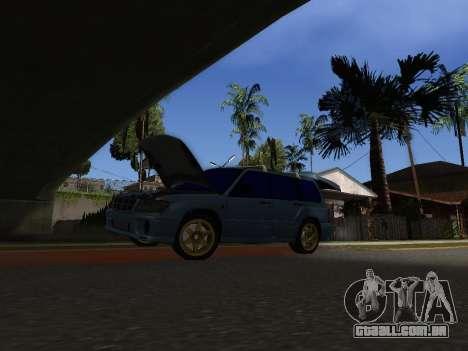 Subaru Forester 1998 para GTA San Andreas vista direita