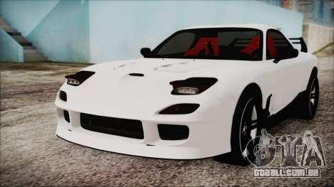 Mazda RX-7 Enhanced Version para GTA San Andreas