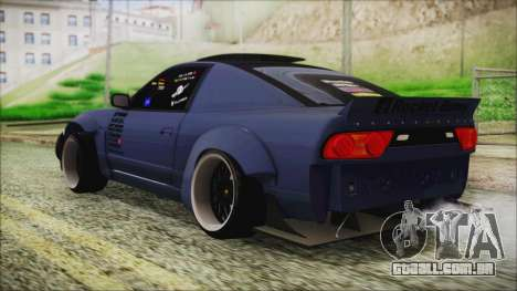 Nissan 180SX Rocket Bunny Edition para GTA San Andreas esquerda vista
