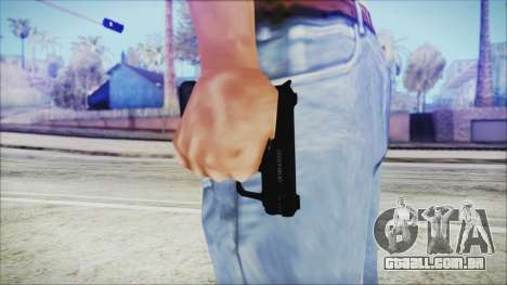 GTA 5 SNS Pistol v3 - Misterix Weapons para GTA San Andreas terceira tela