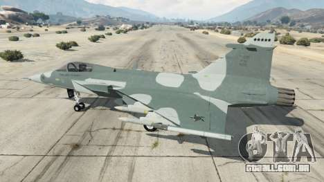 GTA 5 Saab JAS 39 Gripen NG FAB [Beta] segundo screenshot