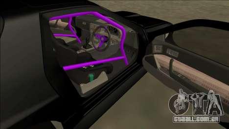 Mazda RX-7 FC Drift para vista lateral GTA San Andreas