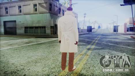 GTA Online Skin 9 para GTA San Andreas terceira tela