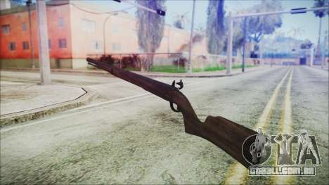 GTA 5 Musket - Misterix 4 Weapons para GTA San Andreas segunda tela